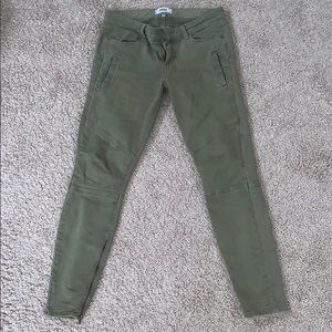 Paige Green Jeans